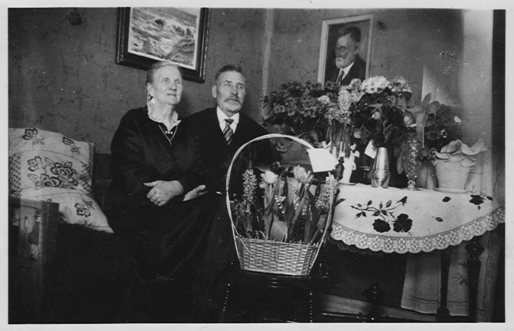Anders and Ulla Svensson in the early 1930's