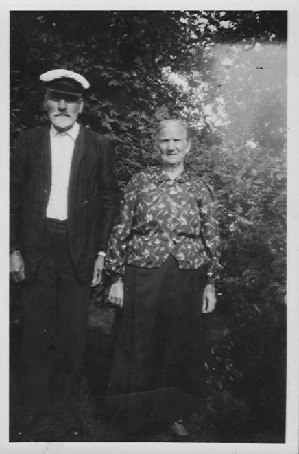 Anders and Ulla Svensson in the latter 1930's