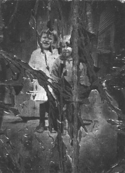 Mary and Steve Pawlak in Irishtown about 1923 or 24